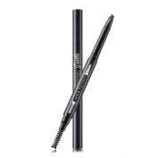 DONGXIUB No Halo Double Headed Rotary Automatic Waterproof Eyebrow Pencil Cosmetic Brush