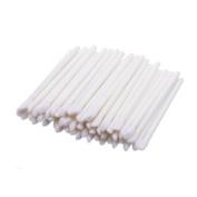Bangood 100 Pcs Lip Brushes Women Disposable Bulk Lipstick Lip Gloss Applicator Makeup Tool White