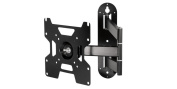 Arctic TV Flex S - Full Motion Wall Mount bracket for 22 - 140cm LED / LCD / Plasma TV fits, Up to 25kg weight capacity - Black