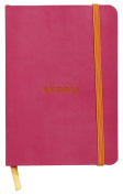 Rhodia Soft Cover Rhodiarama Notebooks, 8.9cm x 14cm (A6), Raspberry, Lined
