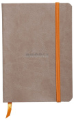 Rhodia Soft Cover Rhodiarama Notebooks, 8.9cm x 14cm (A6), Taupe, Lined