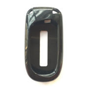 New Black Paint Remote Key Case Holder Cover Fob Skin Covers for Dodge Chrysler 300 Challenger Dodge Charger Dart Durango Journey Jeep Grand Cherokee Keyless Key Bag Jacket Fob