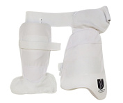 Cricket Thigh Pads Set & Lower Body Protector Guard Right Handed