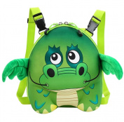 Dorapocket Children 3D Cute Cartoon Hard Shell School Backpack Kindergarten Baby Animal Creative Bag,Dinosaur