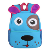 HBOS Kid's Waterproof Backpacks Bags,Baby Boys Girls Toddler Preschool Children Lunch Boxes Carry Bag for 1-5 Years Old,Dog
