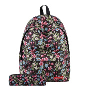 YUYO Fashion Versatile School Bag With a Pencil-box, Stylish Teenager Student School Backpack with Durable Polyester and Casual Travel Indestructible Design to Take You Anywhere