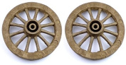 70mm Scale Model Cart and Waggon Wheels x 2