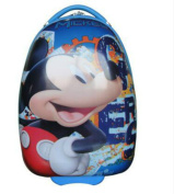 SF- World New Egg Shaped Disney Charactor Hard Shell Kids Trolley Case Luggage Suitcase