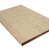 Allwood 3.2cm (3.2cm ) x 80cm x 210cm Whitewood Table / Counter / Island Top