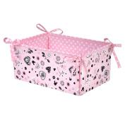 Disney Minnie Mouse Hello Gorgeous Nursery Organiser, Pink/Black/White