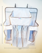 Baby Nursery Organiser & Nappy Caddy By MYBabyLee