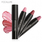 XILALU Long-lasting Red Velvet Matte Colour Pencil Lipstick Crayon Makeup Set