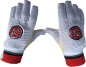 ND Wicket Keeping Inner Chamois Padded Gloves Cricket WK Inners Size Mens Boys