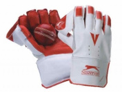 Slazenger Cricket Sport Keeper Mitts Rubber Palm Academy Wicket Keeping Gloves
