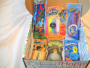 """Magical Toy Fun Surprise with 6 Super! Toys in an """"ALL OCCASION"""" Gift Box"""