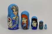 5 pcs Russian Nesting Doll FROZEN #3652