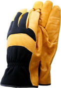 Town & Country Medium Deluxe Soft Leather Classic Gardening Gloves