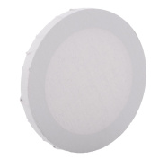 Jili Online Round Blank Stretched Canvas Panels for Painting Artist Craft Supplies White - 20cm