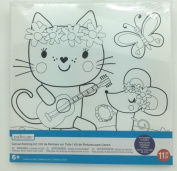 Canvas Painting Kit - Kitty and Mice