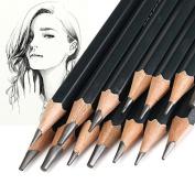 LIPOVOLT Sketch Art Drawing Pencil Sketching Oil Base Artist Sketch Soft Set Of 14