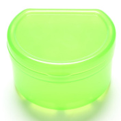 1 Pcs Green Health Dental Orthodontic Retainer Box Mouthguard Denture Storage Case by Team-Management