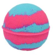 Intimate Bath and Body 160ml Cotton Candy Pink and Blue Bath Bomb