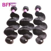 Ali BFF Hair Products 8A Human Hair Bundles Brazilian Virgin Hair Body Wave Mink Hair Extension Natural Black Colour 3 Bundles 36cm