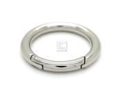 CRAFTMEmore 2PCS 3.2cm O Rings Snap Clip Trigger Spring Opening Keyring Buckle Purse Hardware