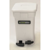 CompoKeeper 22.7l Composter, Composting Bin, White