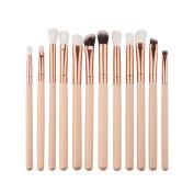 . Makeup Brush Set,Canserin 12Pcs Mini Cosmetic Eyebrow Eyeshadow Brush Makeup Brush Sets Cosmetic Tools Kits
