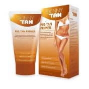 Skinny Tan Pre-Tan Primer - No Orange, No Streak, Cellulite Reduction Lotion All Skin Types