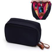Cocoly Portable Travel Toiletry organiser Cosmetic Makeup Bag for Women Makeup or Men Shaving Kit