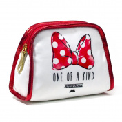 LONDON SOHO NEW YORK Disney Collection Minnie Mouse Cosmetic Clutch, One Of A Kind Bow