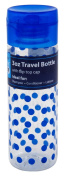 Sprayco Travel Bottle 3 Ounce Cylinder With Flip Top (12 Pieces) Assorted Colours