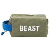 Beast Travel Cotton Canvas Rugged Dopp Kit Bag