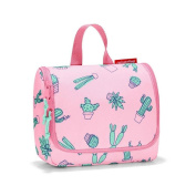 reisenthel toiletbag S kids, Small Toiletry Travel Organiser, Cactus Pink