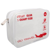 Clear Travel Toiletry Bag-TSA-Approved,0.9l Size ,3-1-1bag, Airport Airline Compliant Bag. XIANGYI