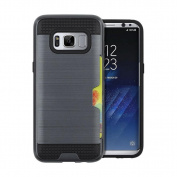 For Galaxy S8 Case,HP95(TM) Luxury Design Card Pocket Hybrid Armour Case Cover for Samsung Galaxy S8 15cm