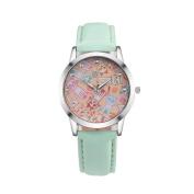 Women Watch, Voberry Women Cute Cat Faux Leather Round Analogue Quartz Wrist Watch