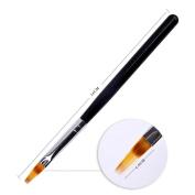 Fullkang DIY Handle UV Gel Nail Art Tip Care Pen Brush Manicure Tool