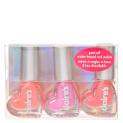 Pink Heart Water Based Nail Polish Set
