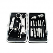 ixaer Nail Care Kit-12 Pcs Nail Care Cutter Cuticle Clippers Pedicure Manicure Grooming Tool Kit Set