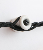 CABLE MANAGEMENT GUIDES | porcelain - 10-pack