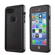 Waterproof Case for iPhone 7 Plus,TOPCHANCES Underwater Cover Full Body Protective Shockproof Dirtproof Snowproof IP68 Waterproof Case for 14cm iPhone 7 Plus