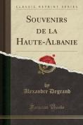 Souvenirs de la Haute-Albanie  [FRE]