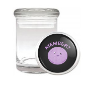 Member Berry SP Funny Medical Odourless Glass Jar