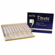 Midwest Homebrewing and Winemaking Supplies Titrets 10 Tests SO2 Test Kit, Multicolor