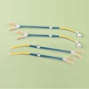 Sammons Preston 538204 Bendable Telescopic Mouth Stick, Page Turner for Quadriplegics and Paraplegics, 41cm - 60cm