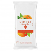 Simply Summer's Eve Feminine Wipe mandarin blossom cleansing cloths 24ct
