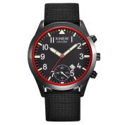 Howstar Wrist Watch Perfect Present For Lover & Mens,Men Fashion Stainless Steel Date Sport Quartz Analogue Wrist Watch